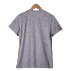 Your Turn - Broadway Street Gri T-shirt - Thumbnail