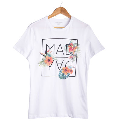 Your Turn - Mad Day Beyaz T-shirt