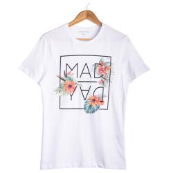HollyHood - Your Turn - Mad Day Beyaz T-shirt