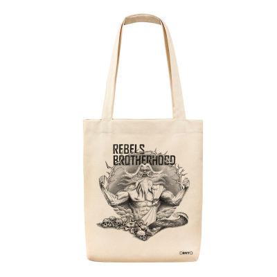 Bant Giyim - Zeus Bag Bez Çanta